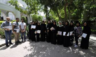 BTEA DISTRIBUTES CERTIFICATES TO THE PARTICIPANTS OF THE 'CERAMIC POTS' WORKSHOP