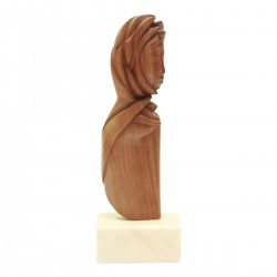 Woman face sculpture