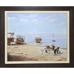 On the Coast of Alnaim Painting