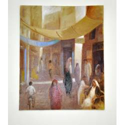 Manama Market No. 2 Painting