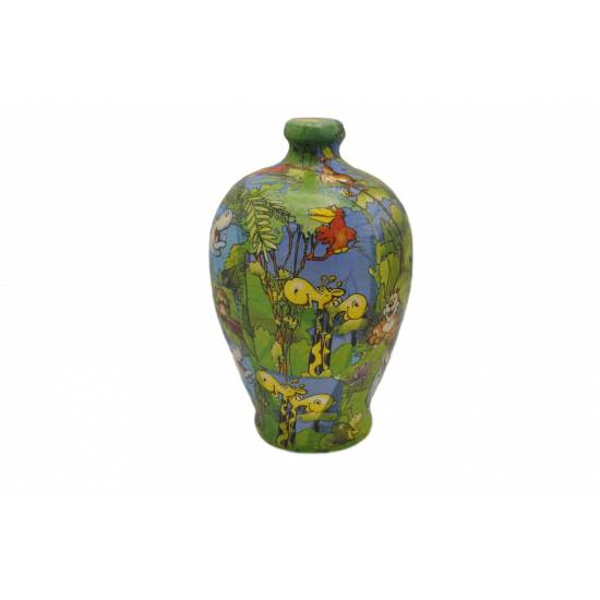 Moneybox made of Pottery big size