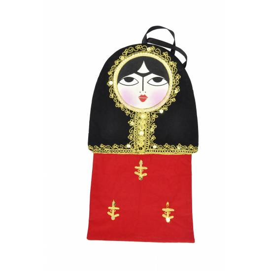 A Large Traditional Doll Bag