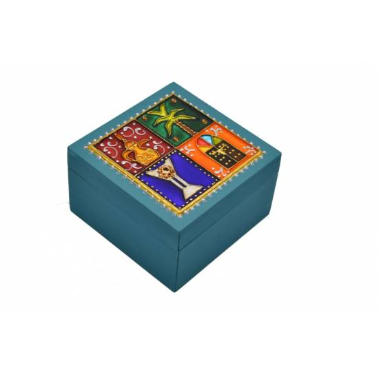 Large square Wooden Box 10*10