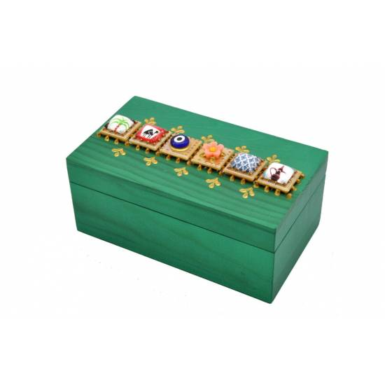 Rectangular Wooden Box 14 * 8