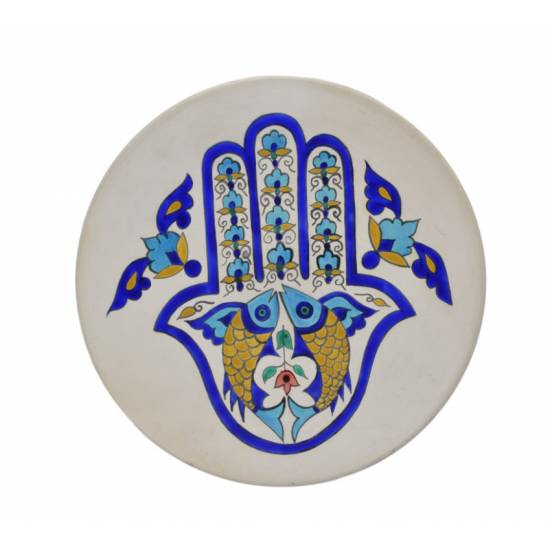 A plate with Fatima's hand