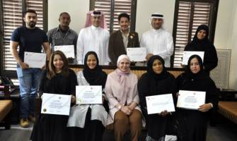HANDICRAFTS DIRECTORATE DISTRIBUTES CERTIFICATES TO THE PARTICIPANTS OF LEATHER CRAFTING WORKSHOP